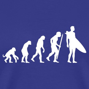 Evolution of Surfing T-Shirts - Men's Premium T-Shirt