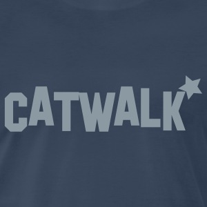 catwalk with star for model! T-Shirts - Men's Premium T-Shirt