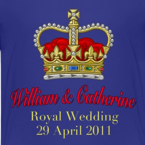 Royal Wedding William & Catherine 29 April 2011 Kids' Shirts - Kids' Premium T-Shirt