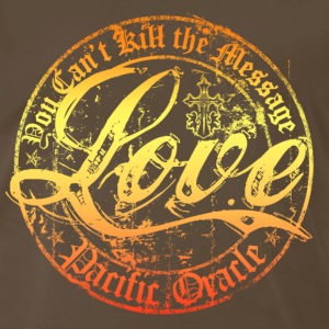 Love- You Can't Kill the Message - Men's Premium T-Shirt