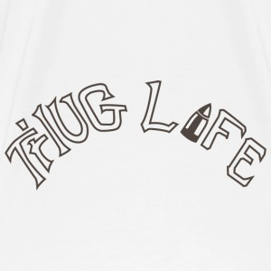Thug Life Tattoo T-shirt - Men's Premium T-Shirt