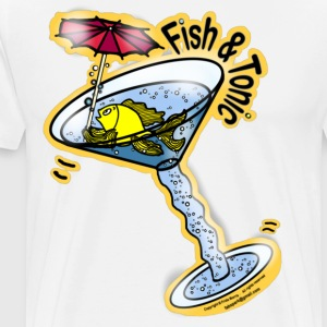 Fish and Tonic  - Men's Premium T-Shirt