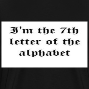 7th_letter T-Shirts - Men's Premium T-Shirt