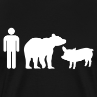 Design ~ Man Bear Pig : The T-Shirt
