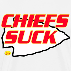 chiefs suck kc T-Shirts - Men's Premium T-Shirt
