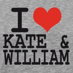 I love Kate and William T-Shirts