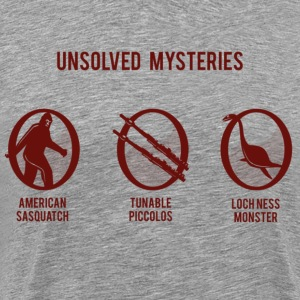 Unsolved Mysteries 3XL - Men's Premium T-Shirt