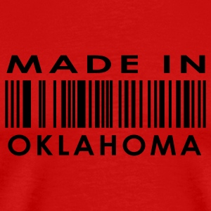 Made in Oklahoma City  T-Shirts - Men's Premium T-Shirt