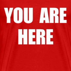 You Are Here Stargate T-Shirts