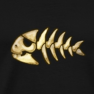 piratefish_bone T-Shirts - Men's Premium T-Shirt
