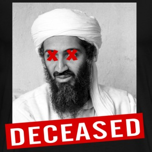 osama deceased T-Shirts - Men's Premium T-Shirt