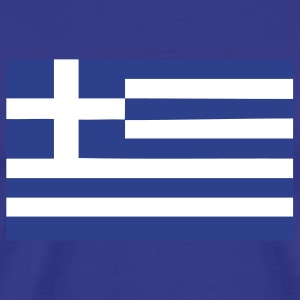 greek greece flag T-Shirts - Men's Premium T-Shirt