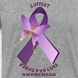 Support Fibromyalgia Awareness Day - Men's Premium T-Shirt