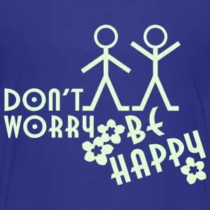 DON'T WORRY BE HAPPY | children's shirt - Kids' Premium T-Shirt
