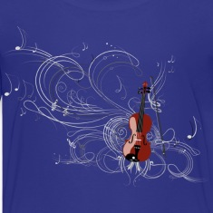Violin Kids' Shirts