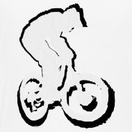 Design ~ Mountainbike T shirt - Ride on!