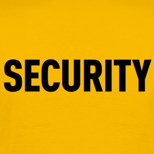 Security Yellow Shirt - Men's Premium T-Shirt