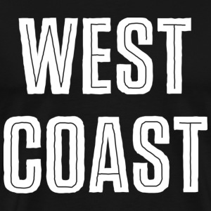 West Coast Dark T-shirt - Men's Premium T-Shirt