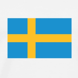 Flag Sweden (dd) T-Shirts - Men's Premium T-Shirt