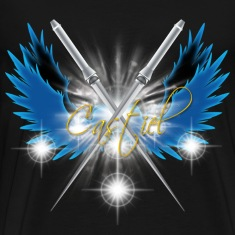 Castiel Angelic Sword T-Shirts