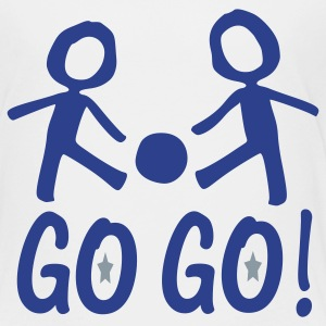 Go Go.Soccer boys Toddler T-Shirt - Toddler Premium T-Shirt