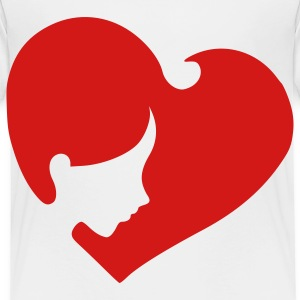 heart_face Toddler Shirts - Toddler Premium T-Shirt