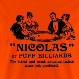 Design ~ Nicolas or puff billiards game