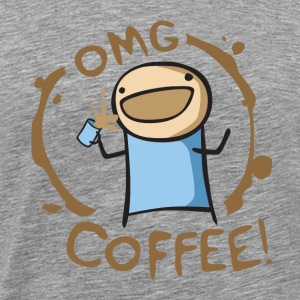 OMG Coffee 3XL Tee - Men's Premium T-Shirt