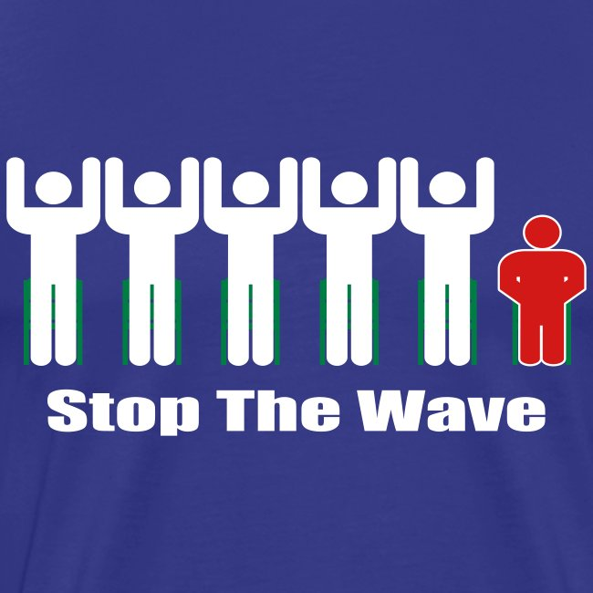 Men's Stop The Wave 3XL Logo T-Shirt