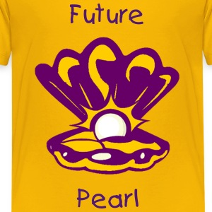 Oyster with Pearl Kids' Shirts - Kids' Premium T-Shirt
