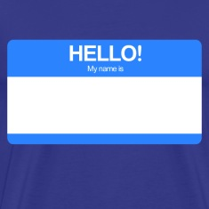 Hello! My name is ... (Blue)
