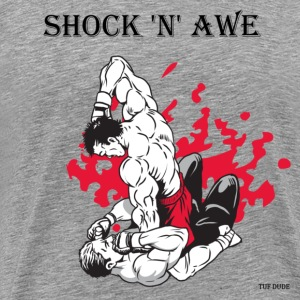 MMA - Shock 'n' Awe T-Shirts - Men's Premium T-Shirt