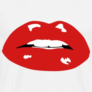 Sexy Mouth T-Shirts - Men's Premium T-Shirt