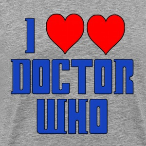 I Heart Love Doctor Who Dr. T-Shirts - Men's Premium T-Shirt