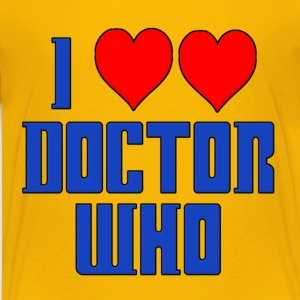 I Heart Love Doctor Who Dr. Kids' Shirts - Kids' Premium T-Shirt