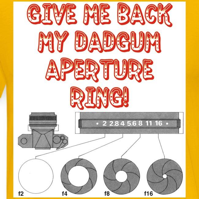 Aperture Ring