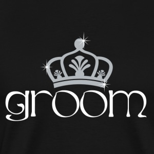 Groom King T-Shirts - Men's Premium T-Shirt