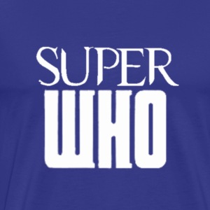 Superwho Logo - Men - Men's Premium T-Shirt