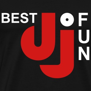 BEST DJ OF FUN | Men's Heavyweight Shirt - Men's Premium T-Shirt