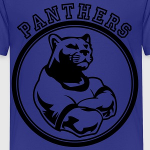Custom Sports Panthers Mascot for Teams Kids' Shirts - Kids' Premium T-Shirt