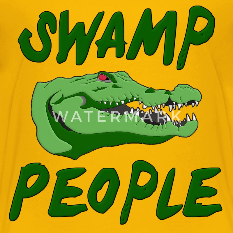 Swamp People Alligator Kids' Shirts - Kids' Premium T-Shirt