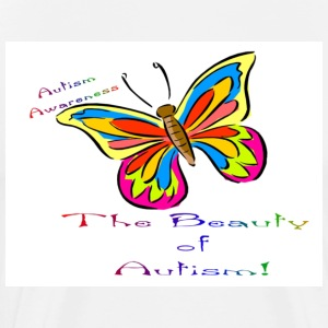Beauty of Autism - Men's Premium T-Shirt