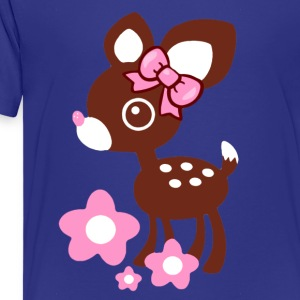 cute deer Kids' Shirts - Kids' Premium T-Shirt