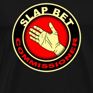 slap bet commissioner - Men's Premium T-Shirt