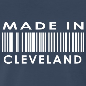 Made in Cleveland  T-Shirts - Men's Premium T-Shirt