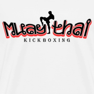 Muay thai kickboxing - Men's Premium T-Shirt