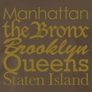 New York Boroughs T-Shirts - Men's Premium T-Shirt