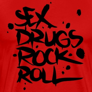 Sex Drugs Rock & Roll T-Shirts - Men's Premium T-Shirt