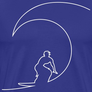 The Wave T-Shirts - Men's Premium T-Shirt