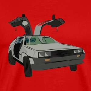 Delorean-Men - Men's Premium T-Shirt